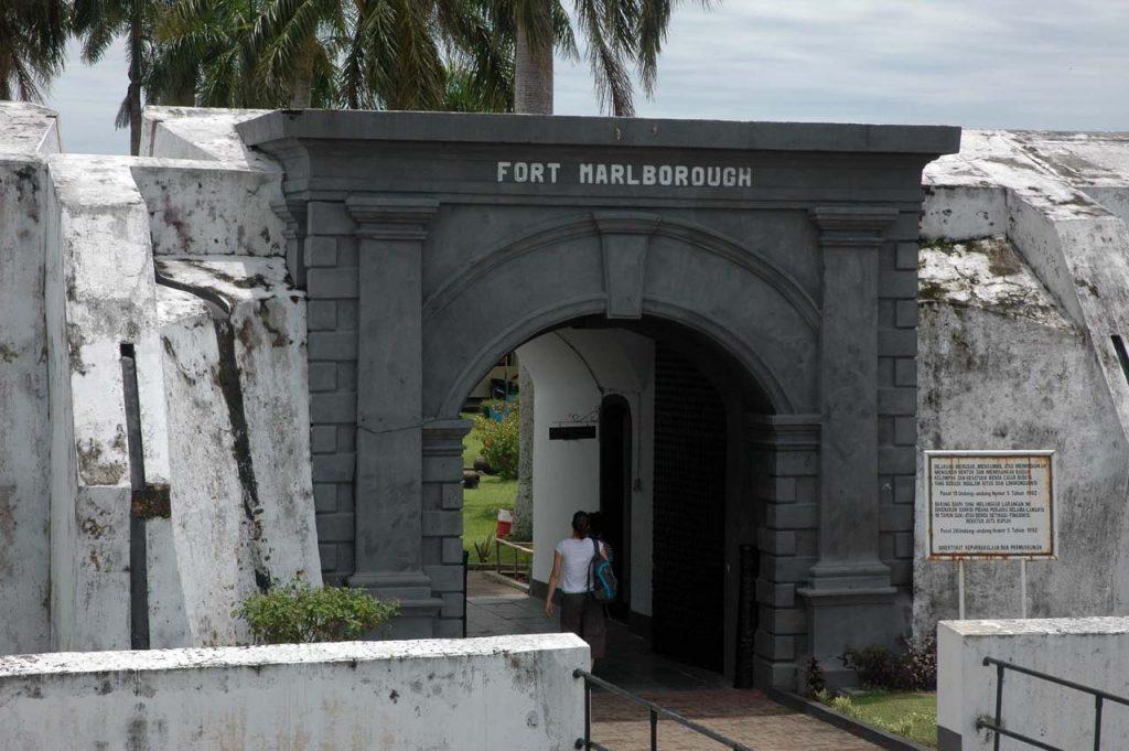 Benteng Marlborough - tempat wisata di bengkulu - keposiasi