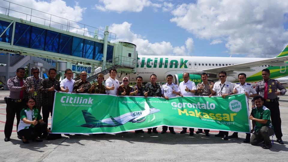 Penerbangan Citilink Jakarta Gorontalo