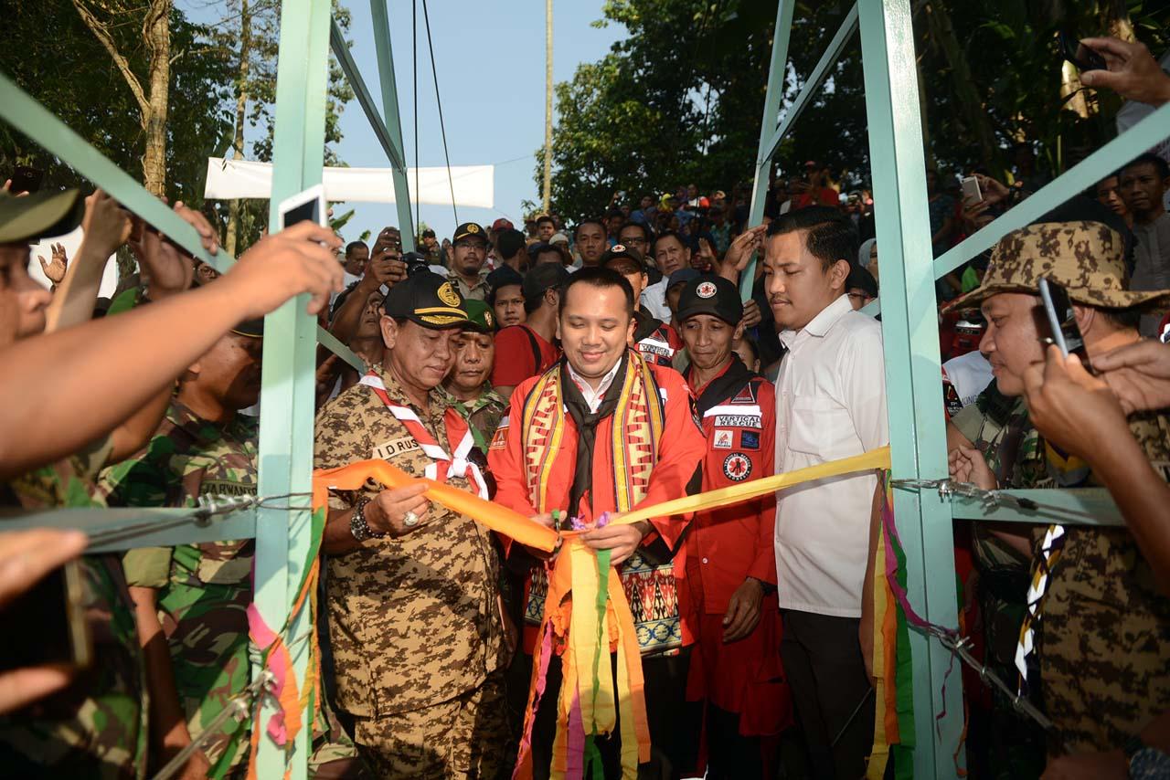 Vertical Rescue Indonesia - Jembatan Gantung Jelujur - Rulung Mulya - Lampung - ekspedisi 1000 jembatan gantung untuk Indonesia