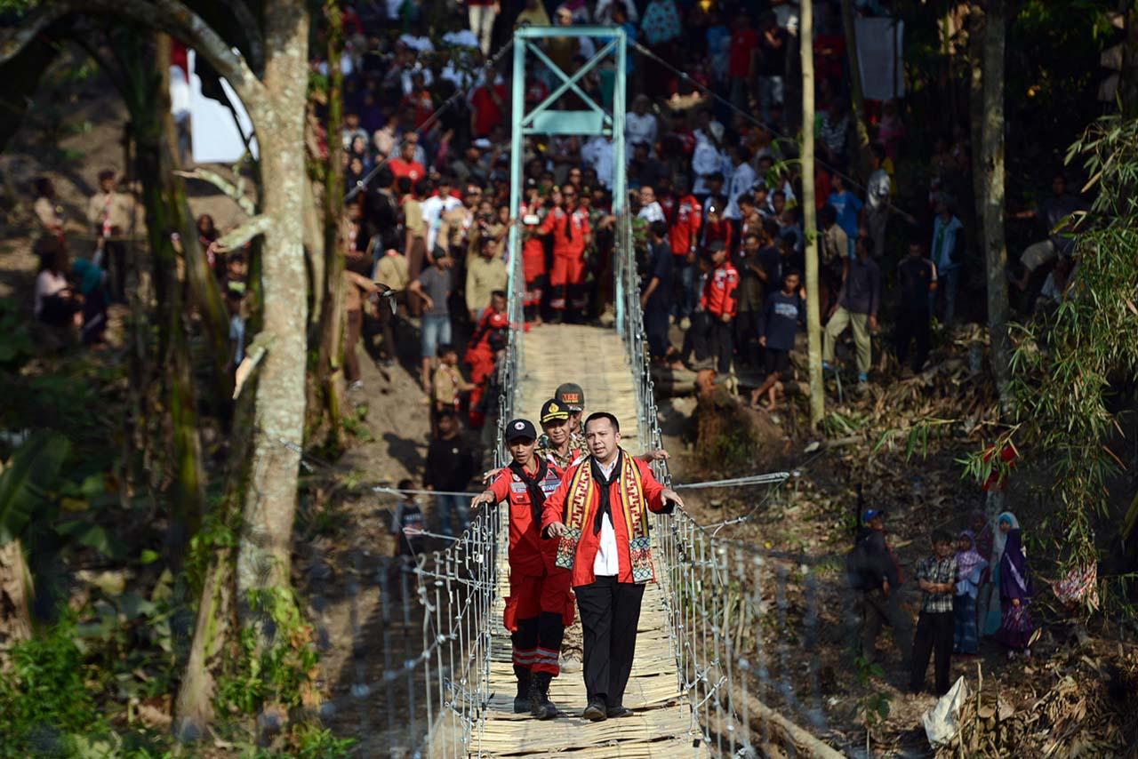 Vertical Rescue Indonesia - Jembatan Gantung Jelujur - Rulung Mulya - Lampung - Yopie Pangkey - 5