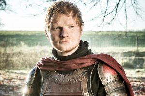 ed sheeran - arya stark - game of thrones