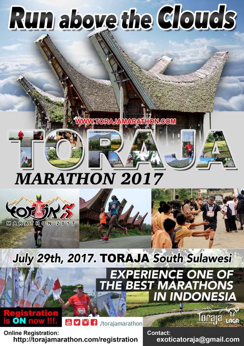 toraja marathon 2017 - wisata toraja