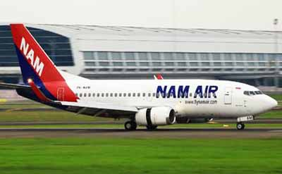 Pesawat Nam Air - Penerbangan Nam Air Jakarta Banyuwangi