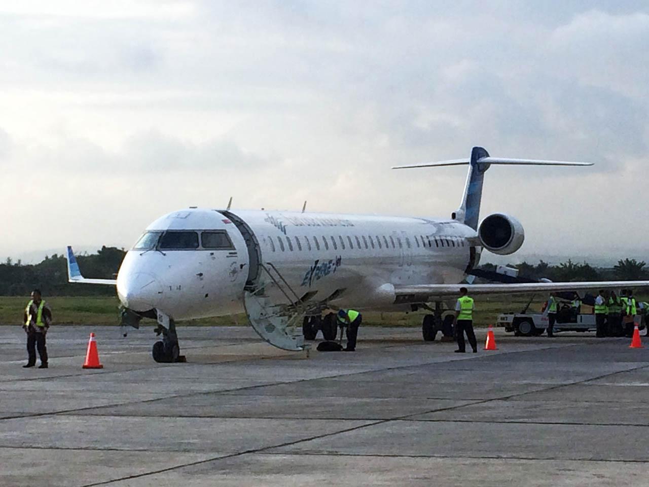 Penerbangan langsung garuda jakarta banyuwangi - Soetta - Blimbingsari