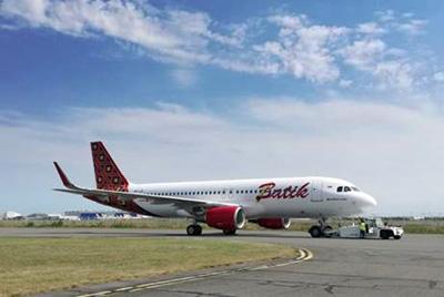 pesawat baru tipe Airbus A320-200CEO - A320 - Batik Air - Lion Air Group @