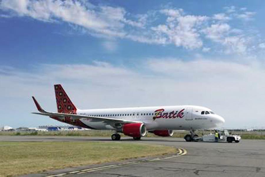 pesawat baru tipe Airbus A320-200CEO - A320 - Batik Air - Lion Air Group