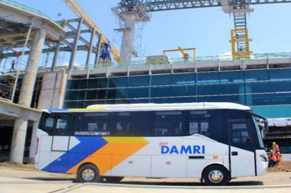 Rute Bus Damri Bandara New Yogyakarta International Airport - NYIA - Kulon Progo- harga tiket