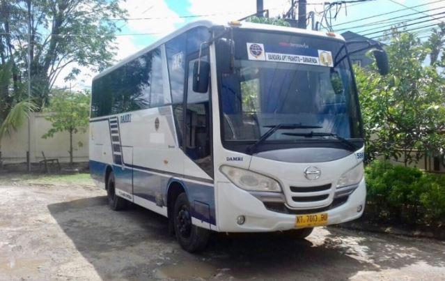 Bus Damri Bandara APT Pranoto Samarinda