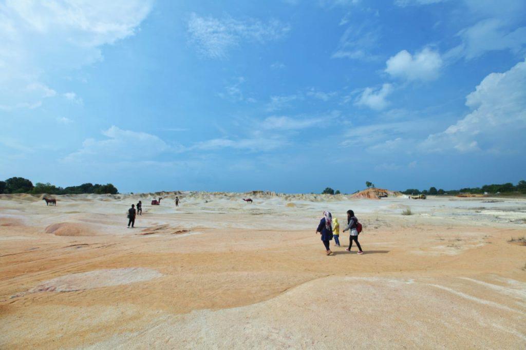 gurun pasir bintan - wisata bintan yang lagi hits