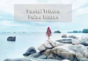 pantai trikora pulau bintan - wisata Kepulauan Riau@