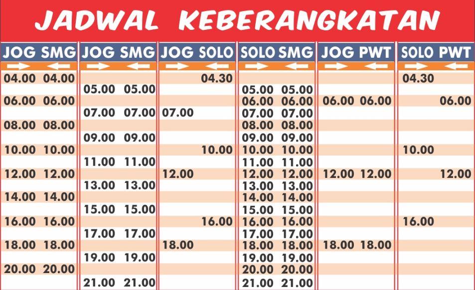 jadwal berangkat Bus Joglosemar - JOGLOSEMAR Executive Shuttle Bus. - yogyakarta Jogja Solo Semarang Temanggung Wonosobo Banjarnegara Purbalingga Purwokerto
