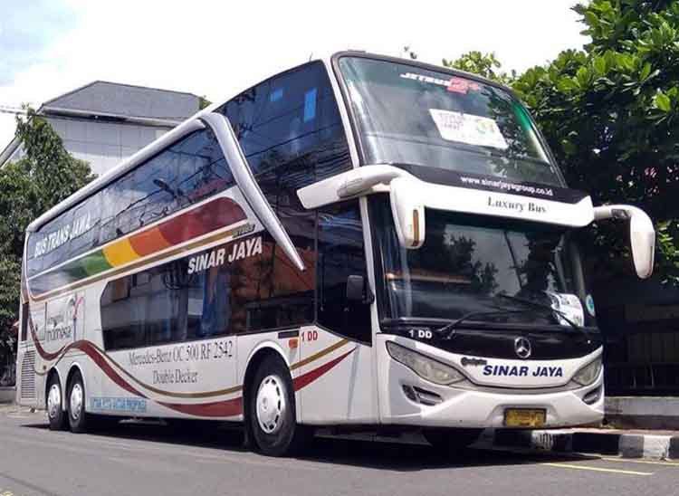 Bus Sinar Jaya Harga Tiket Rute Dan Alamat Agen 2021