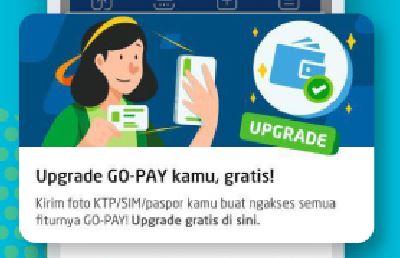 Cara Upgrade Akun GOPAY @