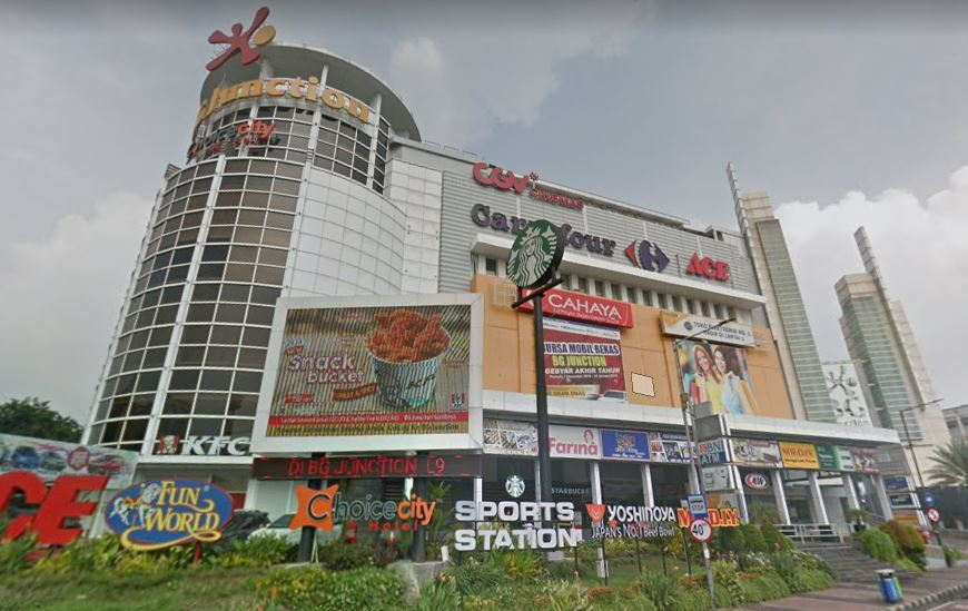 BG Junction Surabaya - GoogleMap