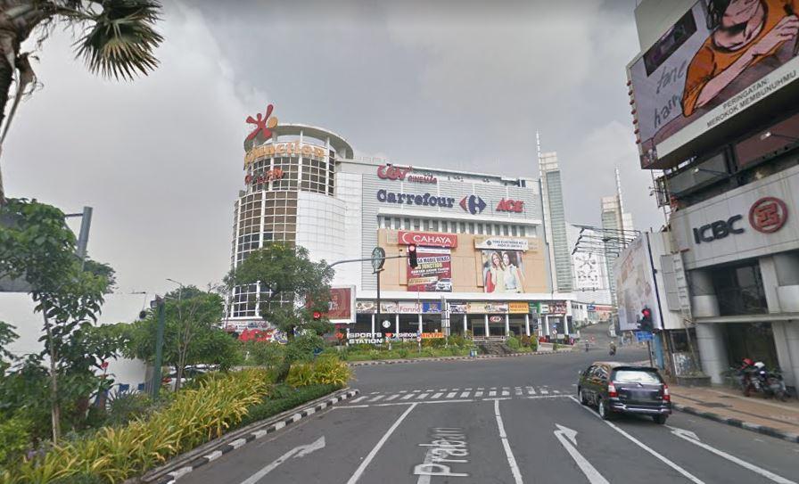 BG Junction Surabaya dilihat dari Jalan Praban - GoogleMap 2