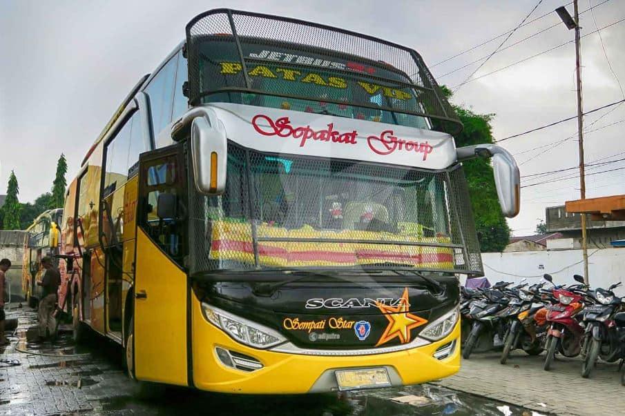 Harga Tiket Bus Sempati Star Jakarta Medan