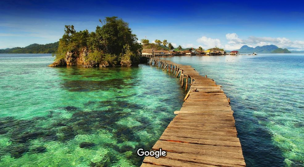 Jembatan Pulau Papan Sulawesi Tengah - Barracudax