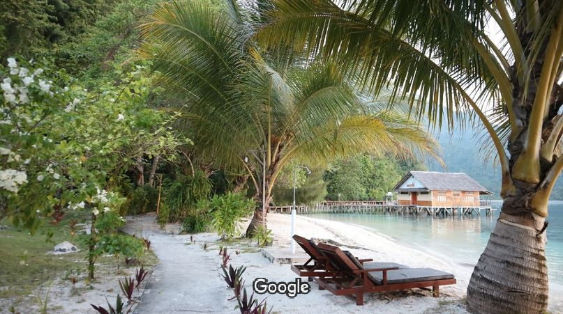 Pantai Ora Pulau Seram Maluku Tengah - Agustina Situmorang - googlemap