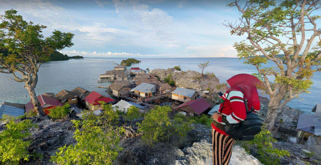 Pulau Papan Togean - Sulawesi Tengah - Richard K - GoogleMap