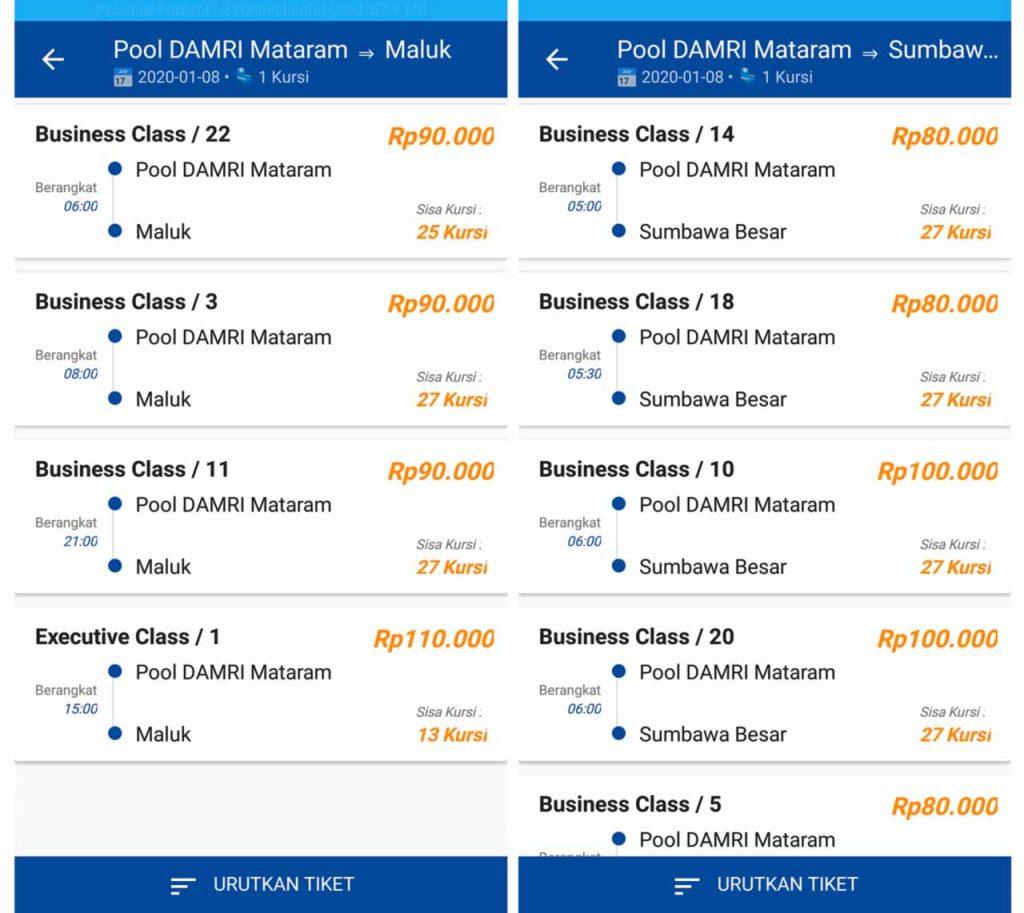 Beli Tiket Online - Harga Tiket Lombok Sumbawa