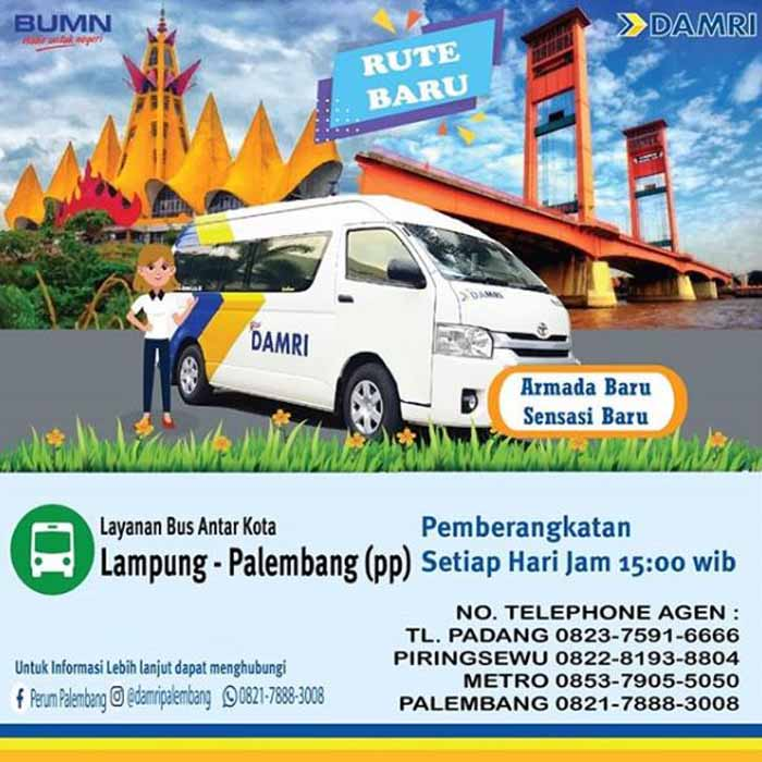 DAMRI Palembang Lampung