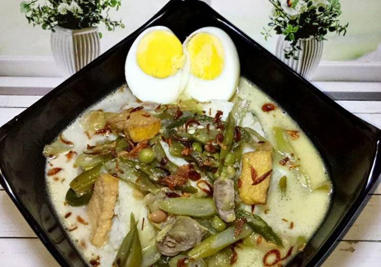 Lontong Sayur Gulai Tauco - Tya_Kitchen - cookpadcom
