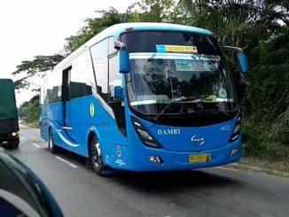 bus damri palembang @farda_insan