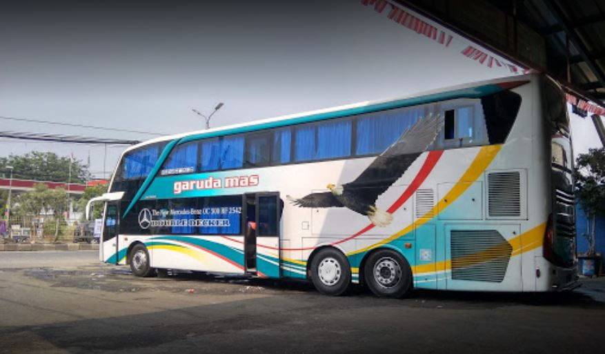 Bus Garuda Mas Double Decker - Kakang Paijo