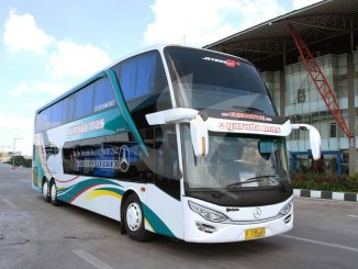 Foto Gambar Bus Garuda Mas Double Decker - traveloka