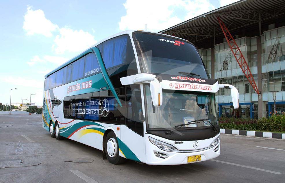 Foto Gambar Bus Garuda Mas Double Decker - traveloka