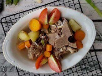 Foto Gambar Resep Sop Tulang Sapi - Cara membuat sup tulang sapi - @niguayola @