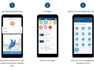 Cara Bayar Listrik Lewat M Banking Mandiri Online Bank - bankmandiricoid - 2