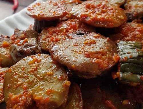 Foto Gambar Bahan Resep Jengkol balado - cara bikin memasak balado jengkol - keposiasi.com - @niguayola @