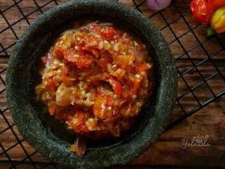 Foto Gambar Resep Sambal Korek ala Jarot Budiono - cara membuat sambal korek - keposiasi.com - @niguayola - 2 @