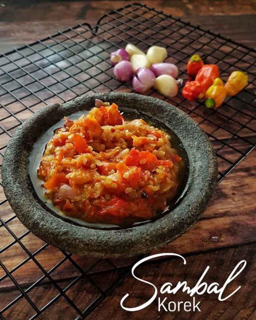 Foto Gambar Resep Sambal Korek - cara membuat sambal korek - keposiasi.com  - @niguayola - 1