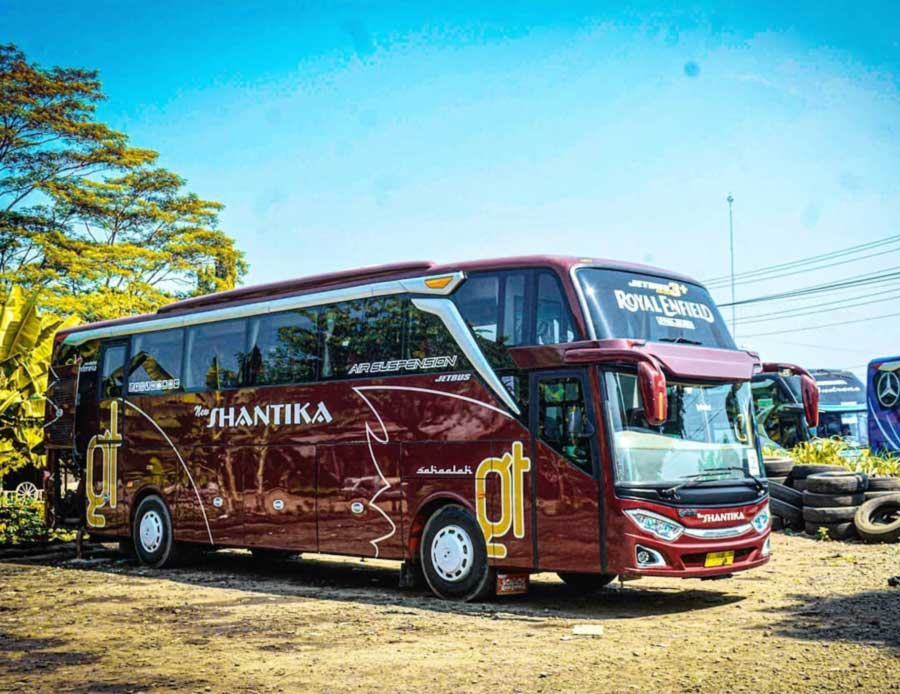 Rute harga tiket bus new shantika super executive - @danangjaya46
