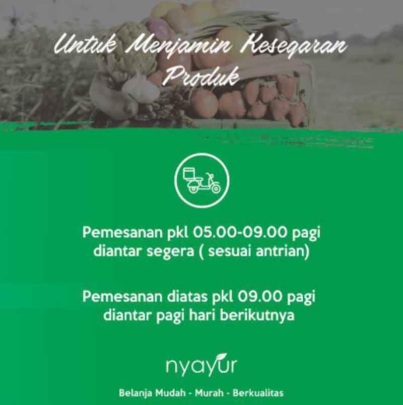 Beli Sayur Online - @nyayur.indonesia