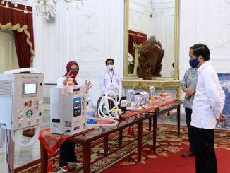 Produk inovasi Alat kesehatan alkes lokal penanganan covid 19 virus corona BPPT - Biro Pers Media dan Informasi Sekretariat Presiden
