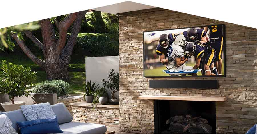 Samsung Terrace 2020 - The Terrace - TV outdoor