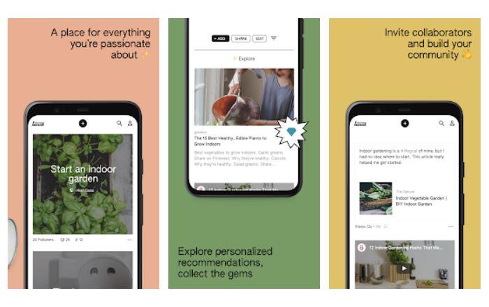 Aplikasi Keen buatan Googla saingan pinterest