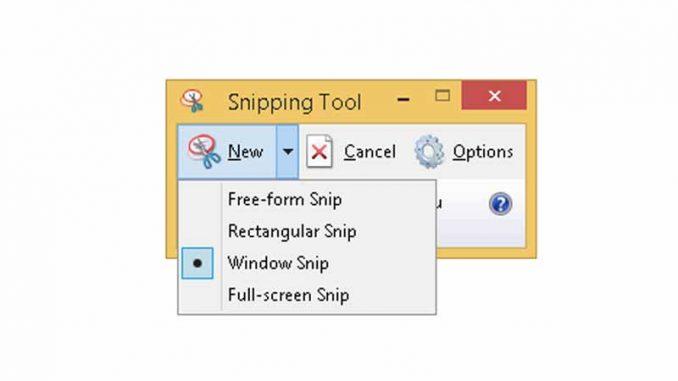 Snipping Tool - contoh hasil cara screenshot layar komputer - screenshot layar laptop copy