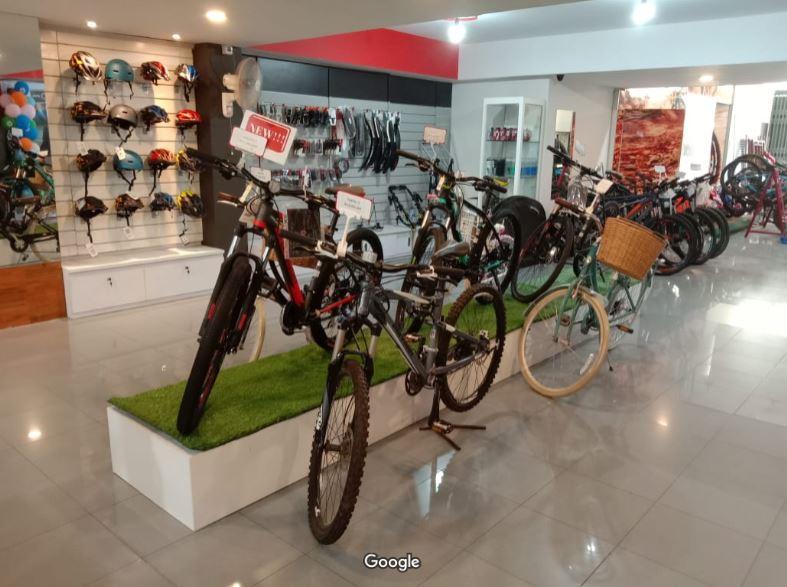 Toko Sepeda di Makassar - Dunia Sepeda Jaya PT