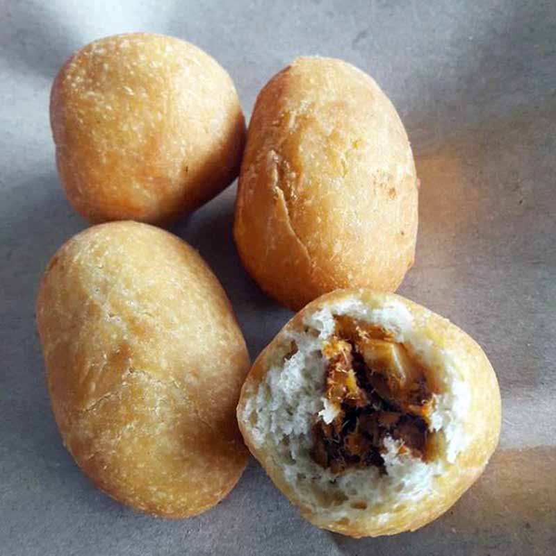 Resep Luti Gendang - Roti Gendang - @andinifooddiary