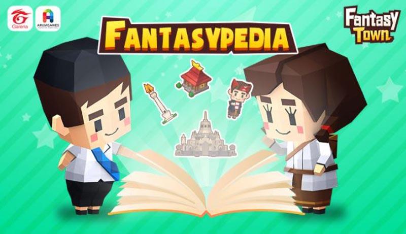 Game Garena Fantasy Town Luncurkan Fantasypedia 1