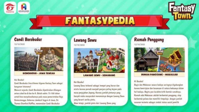 Game Garena Fantasy Town Luncurkan Fantasypedia 2