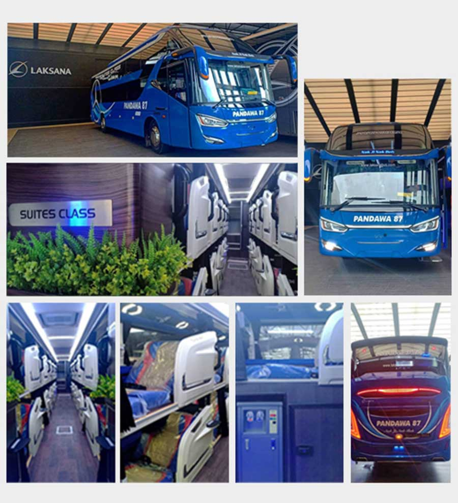 Harga Sewa Bus Pandawa 87 suites class