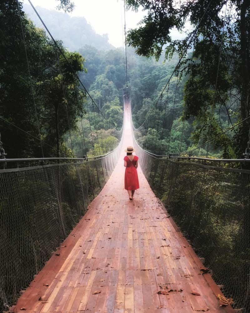 Jembatan Gantung Situ Gunung Suspension Bridge - Sukabumi Jawa Barat - jantilim-1609140994832