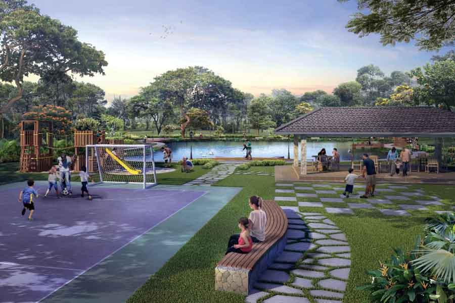 Fasilitas SrimayaResidence Bantargebang - Summarecon Bekasi - 1
